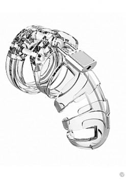 Man Cage Model 02 Chastity 3.5 Clear