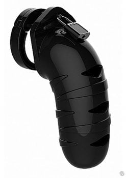 Man Cage Model 05 Chastity 5.5 Black