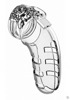 Man Cage Model 06 Chastity 5.5 Clear