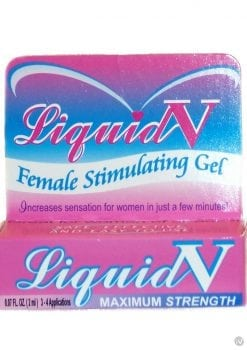 Liquid V Stimulating Gel For Women 0.1 Ounce