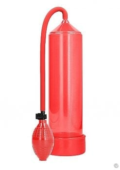 Pumped Classic Penis Pump Red