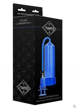 Pumped Deluxe Beginner Pump Blue
