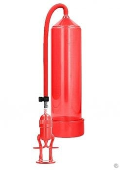 Pumped Deluxe Beginner Pump Red