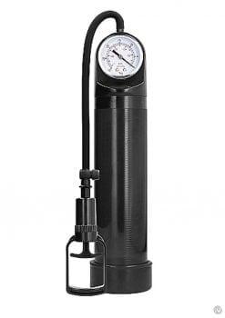 Pumped Comfort Pump W/psi Gauge Black