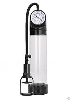Pumped Comfort Pump W/psi Gauge Transpar