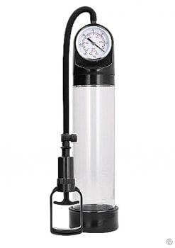 Pumped Comfort Pump W/psi Gauge Transpar