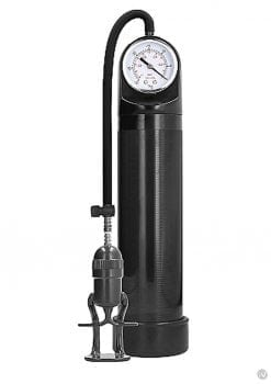 Pumped Deluxe Pump W/psi Gauge Black