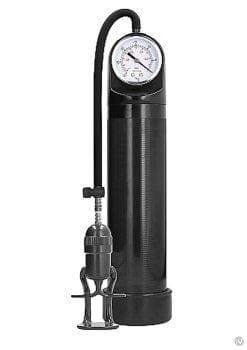 Pumped Deluxe Pump W/psi Gauge Black