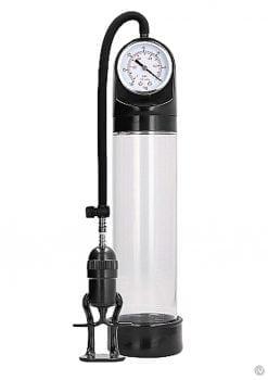 Pumped Deluxe Pump W/psi Gauge Transpar