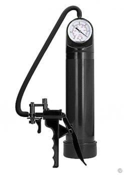 Pumped Elite Pump W/psi Gauge Black