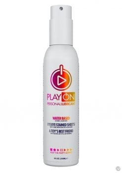 Play On Water-based Lube 8oz