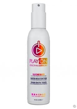 Play On Silicone-based Lube 8oz