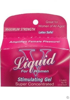 Liquid V Stimulating Gel For Women 3 Pack