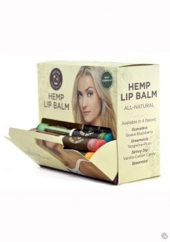 Hemp Lip Balm Assorted 48 Piece Display