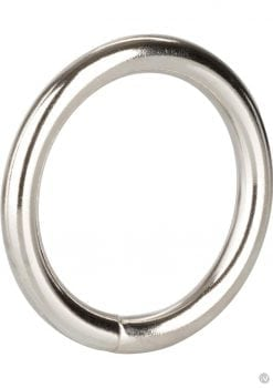 Silver Cock Ring Large 2.5 Inch Diameter Silver