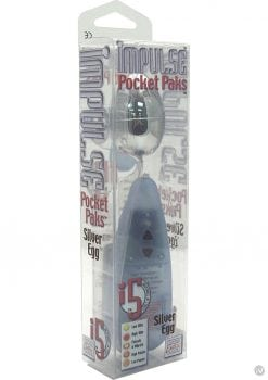 Impulse Pocket Paks Egg Silver