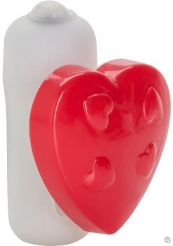 Vibrating Panty Pal Heart Tickler Waterproof Red