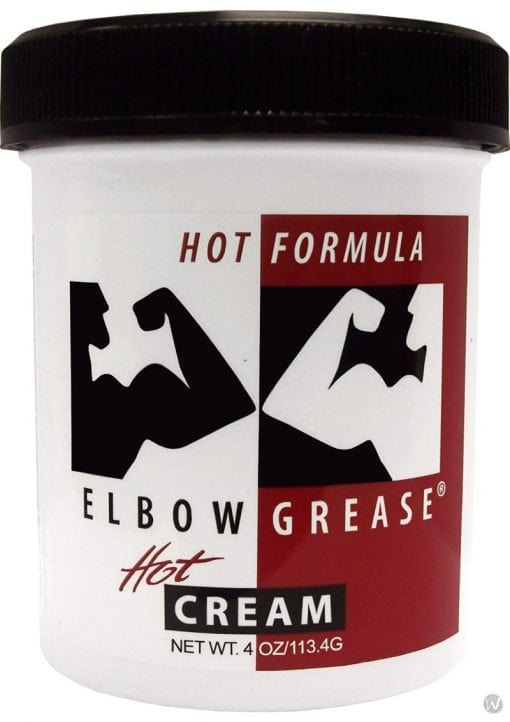 Elbow Grease Hot Formaul Hot Cream Lubricant 4 Ounce