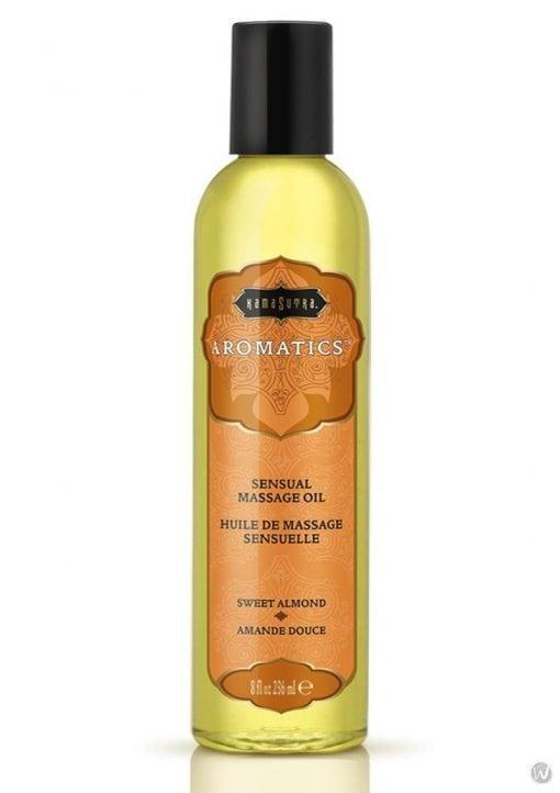 Aromatic Massage Oil Sweet Almond 8 Ounce