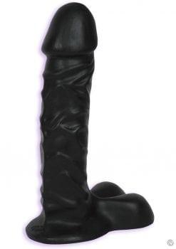 Ballsy Super Cock Sil A Gel Dong 9 Inch Black