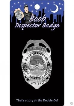 Offical Boob Inspector Badge