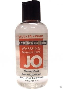 Jo All In One Warming Massage Glide 4 Ounce