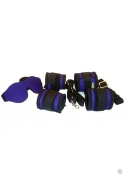 Whip Smart Explore Bondage Kit Exotic Purple