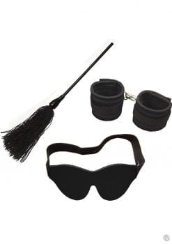 Whip Smart Engage Bondage Kit Mystic Black