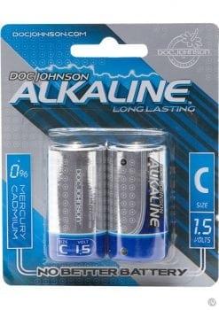 Doc Johnson Alkaline Batteries C 2 Pack
