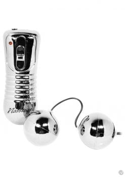 Vibrating Ben Wa Balls Waterproof Silver