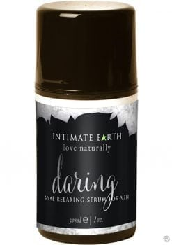 Intimate Earth Daring Mens Anal Relaxing Spray Lemongrass 1 Ounce