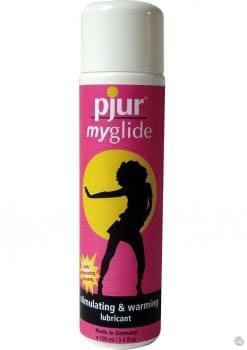 Pjur My Glide Stimulating And Warming Water Based Lubricant 3.4 Ounce