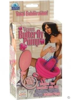 VENUS BUTTERFLY PUMP WATERPROOF PINK