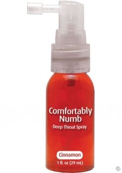 Comfortably Numb Deep Throat Spray Cinnamon 1 Ounce
