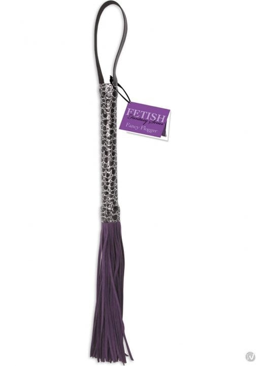 Fetish Fantasy Series Designer Flogger Purple