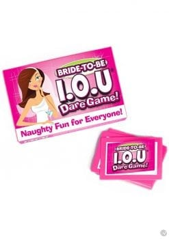 Bride-to-Be IOU Dare Game