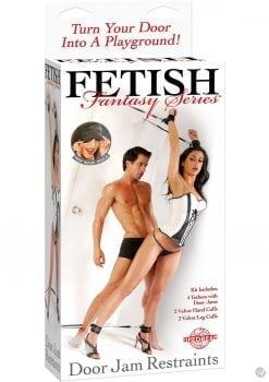 Fetish Fantasy Series Door Jam Cuff Set