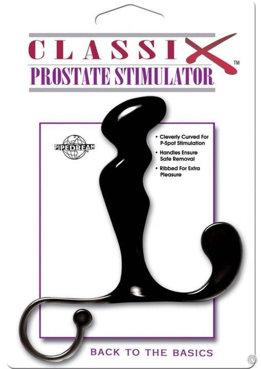 Classix Prostate Stimulator Waterproof 5.5 Inch Black