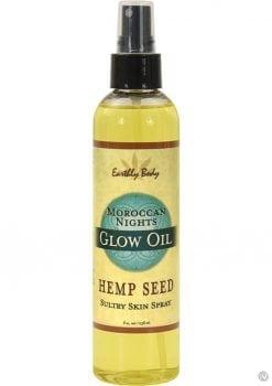 Glow Oil With Hemp Seed Moroccan Nights 8 Ounce Spray