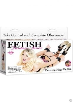 Fetish Fantasy Extreme Hog Tie Kit