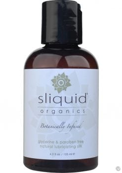 Sliquid Organics Silk Water Based Lubricant 4.2 Ounce