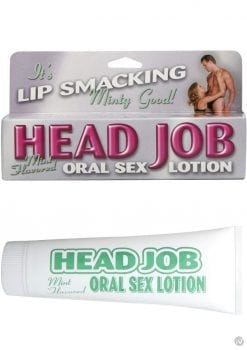 Head Job Oral Sex Lotion 1.5 Ounce Mint