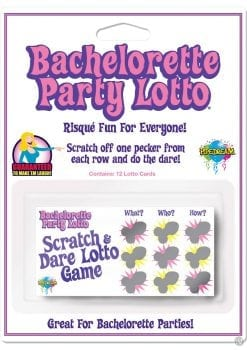 Bachelorette Party Favors Lotto Cards 12 Each Per Pack