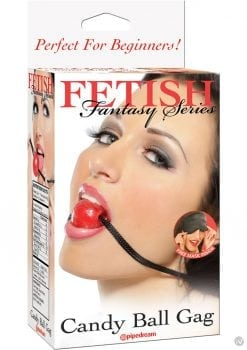 Fetish Fantasy Series Candy Ball Gag Red