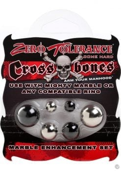 Zero Tolerance Cross Bones Marble Enhancement Set
