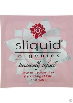 Sliquid Organics O Gel 5 Milliliter Pillow 12 Each Per Pack