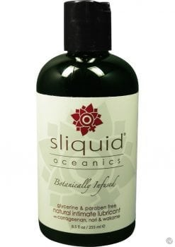 Sliquid Oceanics Organic Intimate Water Based Lubricant 8.5 Ounce