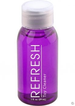 Refresh Anti-Bacterial Toy Cleaner 48 Each 1oz Bottle Per Fish Bowl