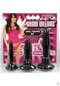 Wendy Williams Anal Trainer Kit Black