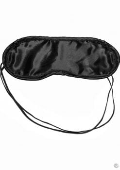 Sex And Mischief Satin Black Blindfold